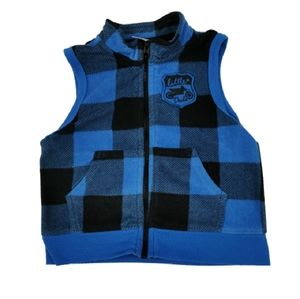 🔥10/$20 Buffalo Plaid Check Fleece Vest